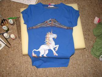 Unicorn Volcano Tshirt