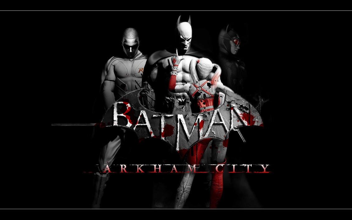 Batman Arkham City 4 by DesignsByTopher