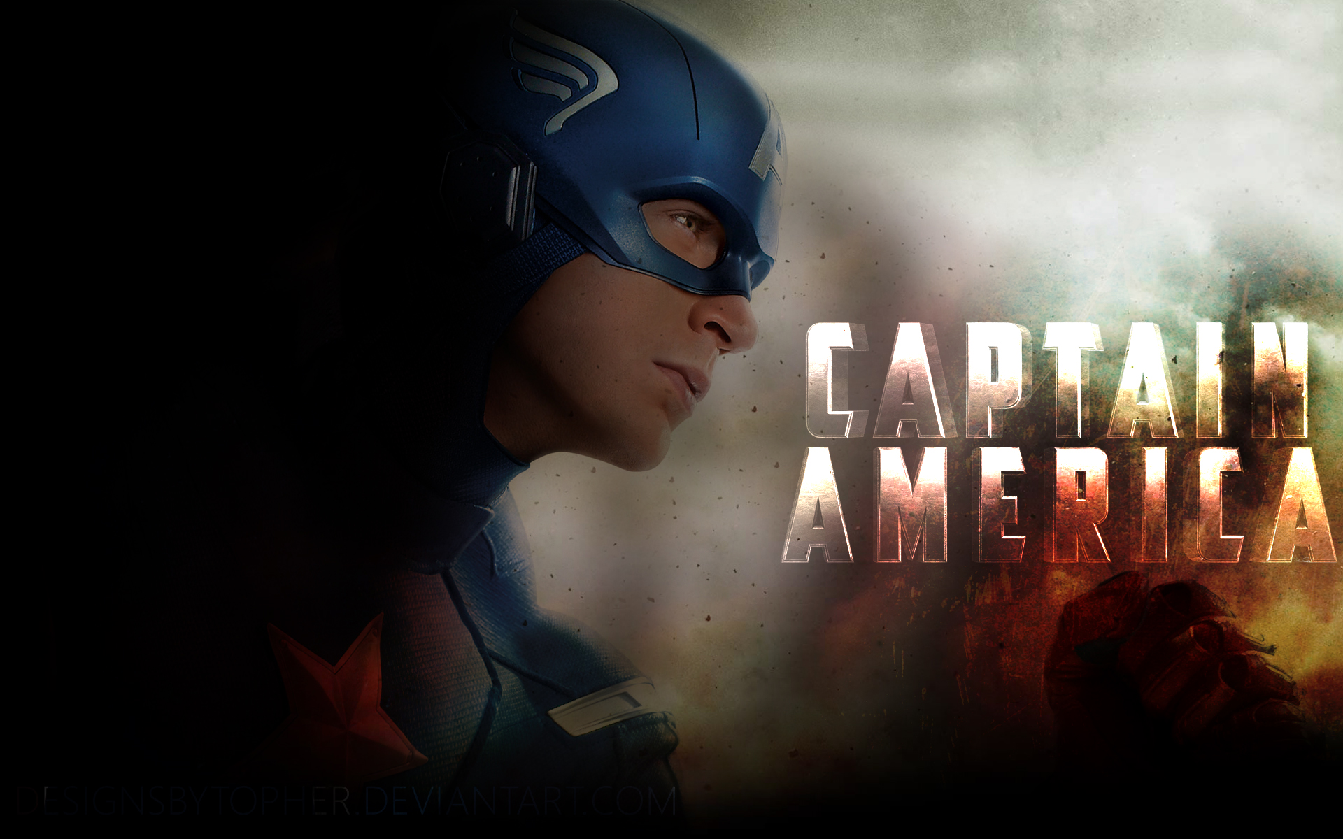 Captain America 01 By DesignsByTopher On DeviantArt