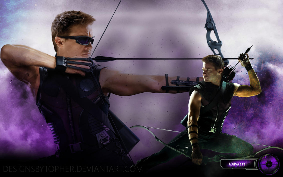 Hawkeye - The Avengers by DesignsByTopher