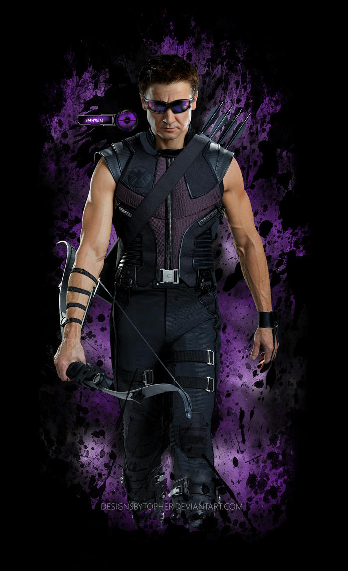Hawkeye 02 by DesignsByTopher