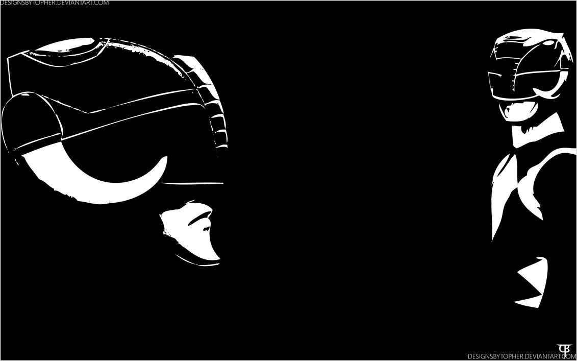 Black Mighty Morphin Power Ranger By DesignsByTopher