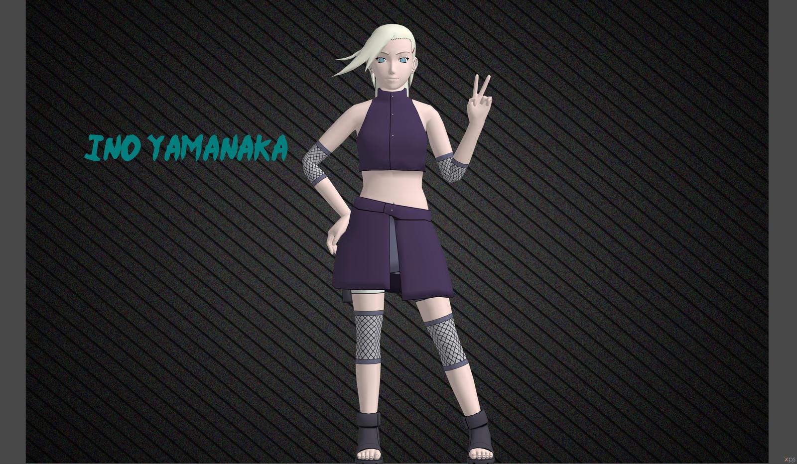 Ino Yamanaka by o0Cristian0o