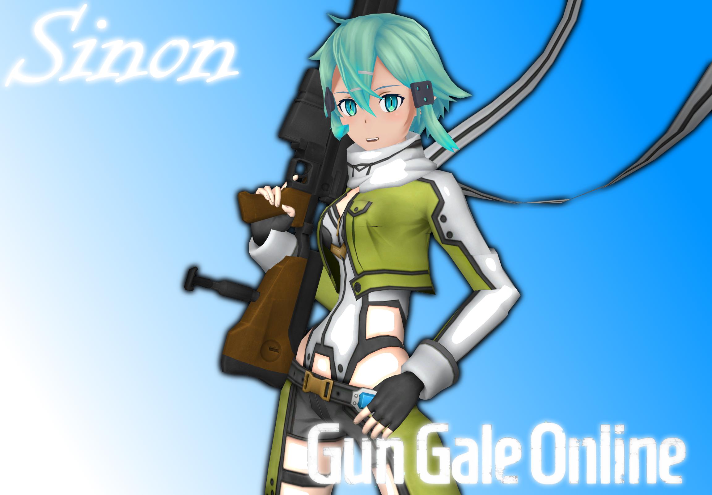 Gun Gale Online - Sinon by o0Cristian0o on DeviantArt