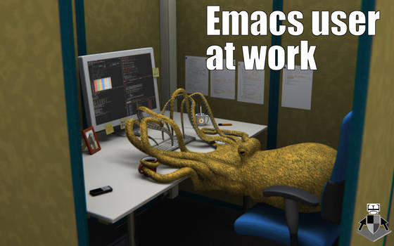 emacs user at work
