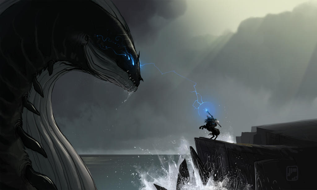 The Almighty Leviathan by Jimamox