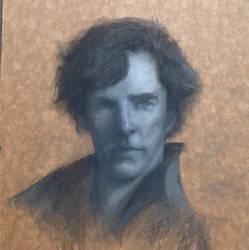 Holmes Sketch by danfs85