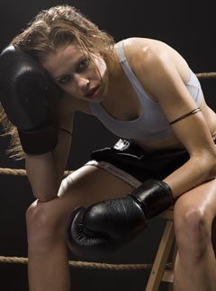Boxing girl by ReginaBoxing