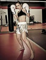 Kickboxing girl by ReginaBoxing