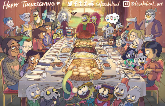 Ultimate Thanksgiving Crossover