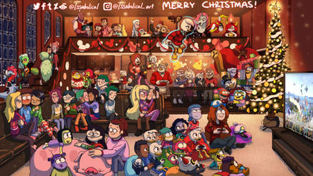 MERRY CHRISTMAS! by Issabolical
