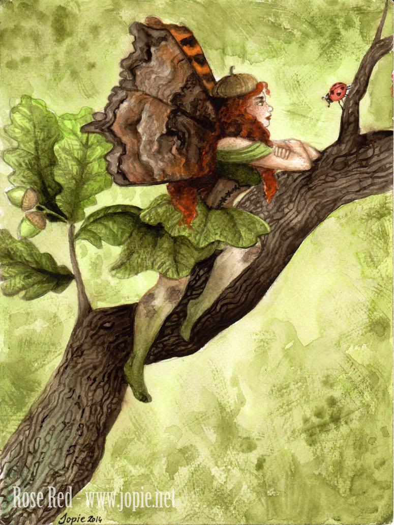 Oak Faery by Laiyla