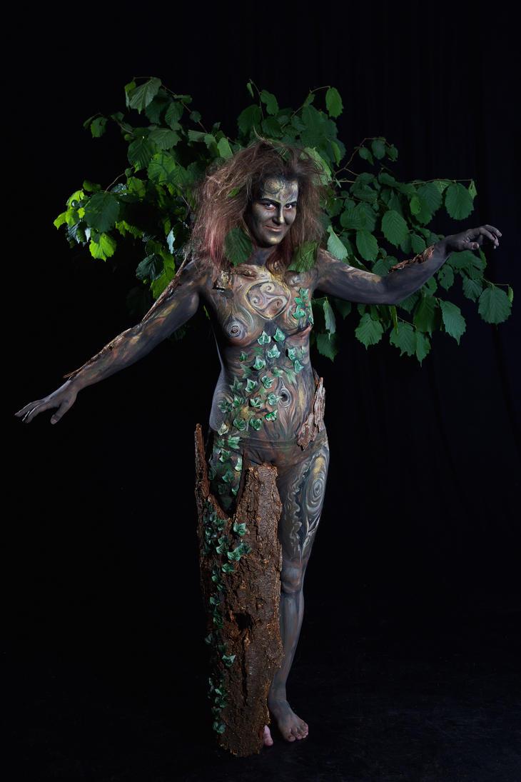 Tree spirit by Laiyla