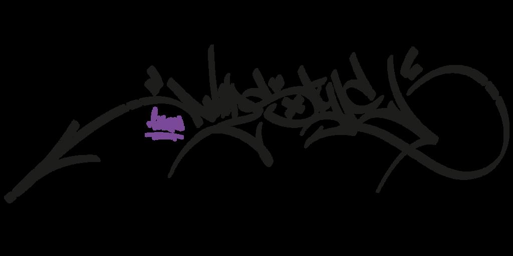 handstyle of the wildstyle by littlegreenstars