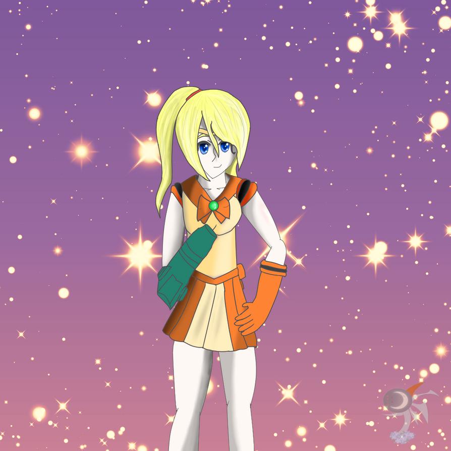 Sailor Scout Samus by MoonwolfYouthOtaku