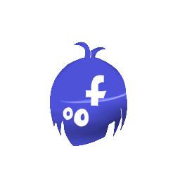 Facebook Icon by MoonwolfYouthOtaku