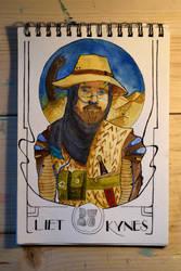 Liet Kynes - Frank Herbert's DUNE by SaintGlinglin