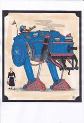 Armored Trudging Engine...
