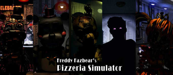 Freddy Fazbear's Pizzeria Simulator by bearbro123 on DeviantArt