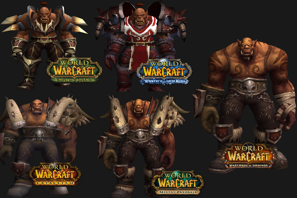 Over the Years Garrosh Hellscream by ValAndy7