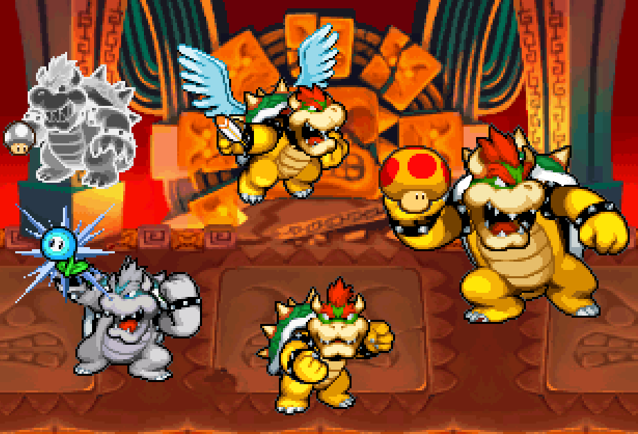 Bowser's Forms by ValAndy7