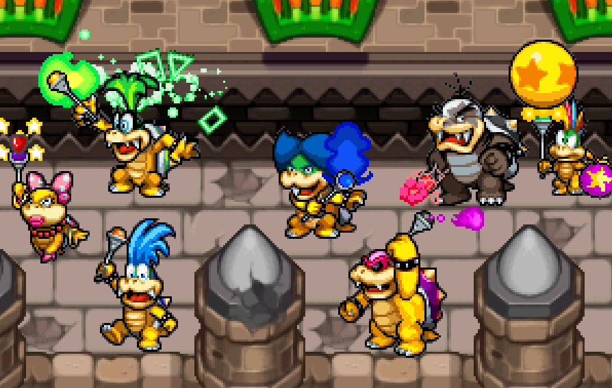 The Koopalings by ValAndy7 Bowser Jr And The Koopalings