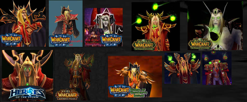 Over the Years Kael'thas Sunstrider by ValAndy7