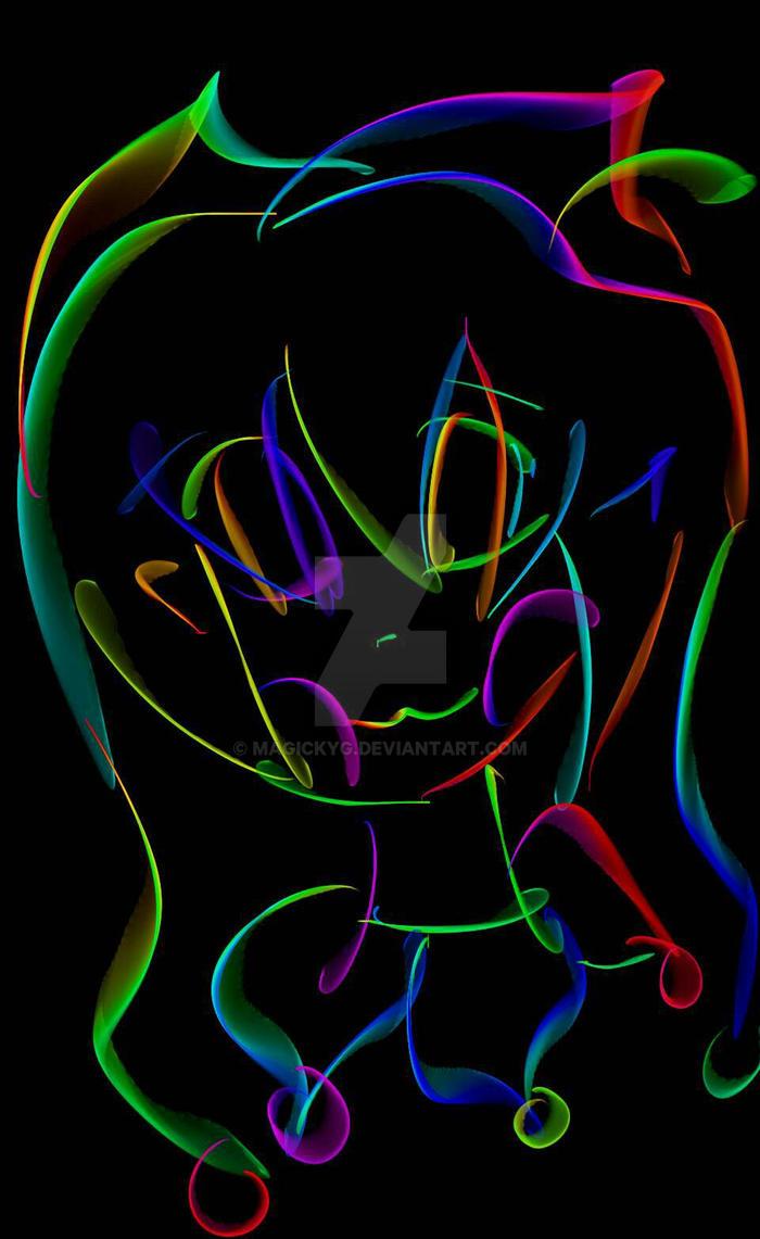 Candy Pop Rainbow silk by Magickyg