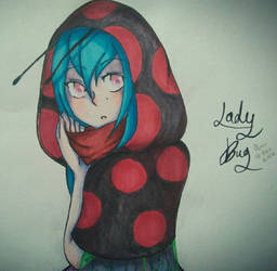Lady bug  by Phioai
