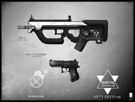 Khayal Weapons 1 by LoomingColumn