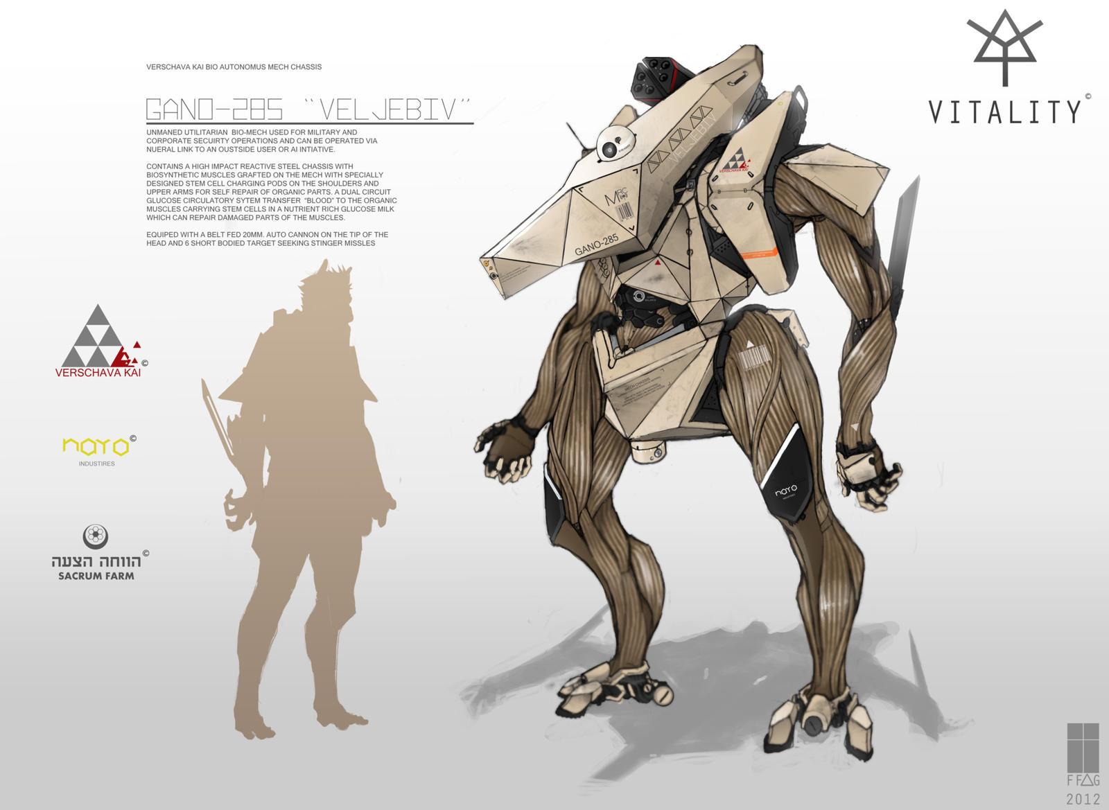 Vitality: 'VELJEBIV' BioMech by FutureFavorite