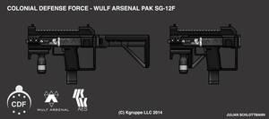 Takamo Universe: WULF ARSENAL PAK SG-12F