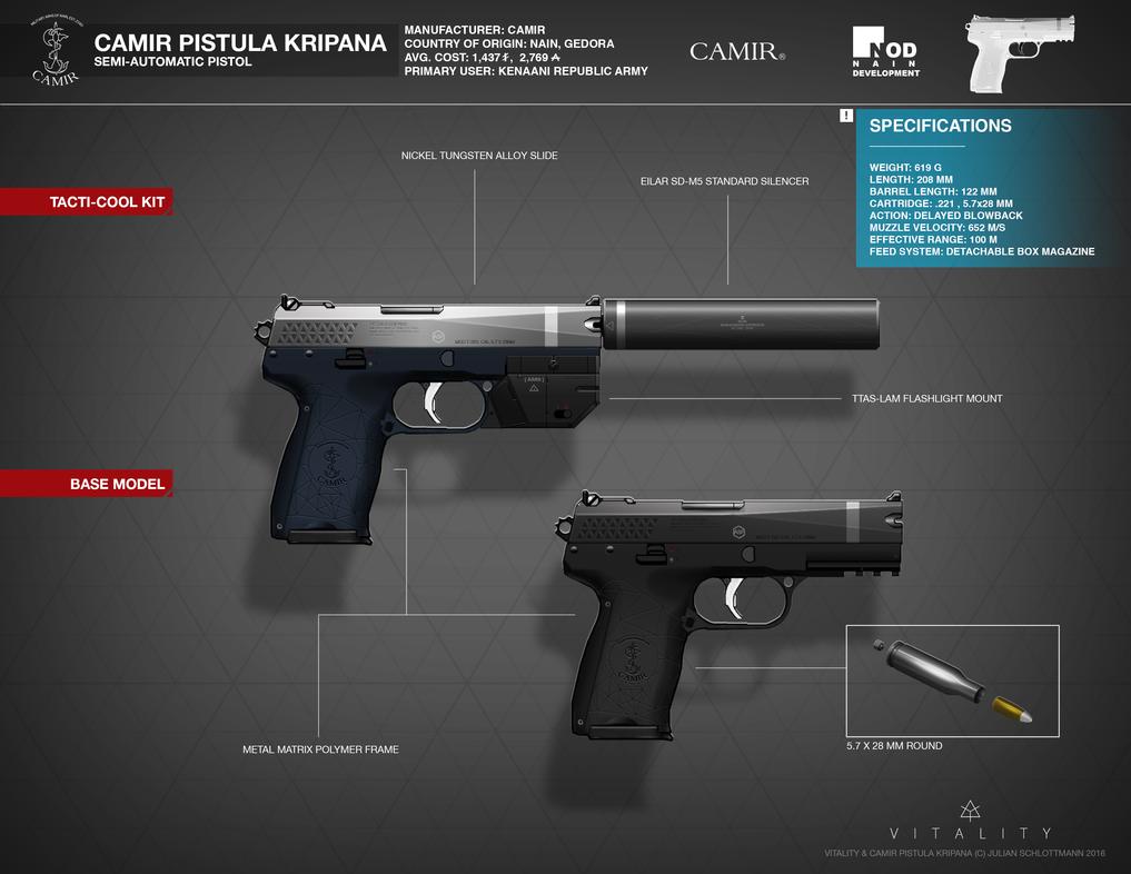CAMIR PISTULA KRIPANA by FutureFavorite
