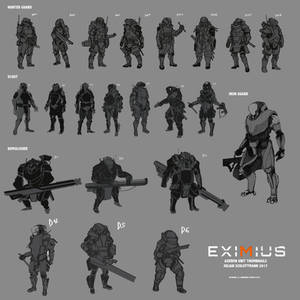 EXIMIUS: Axeron Thumbnail Practice