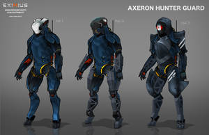 EXIMIUS: Axeron Hunter Guard by LoomingColumn