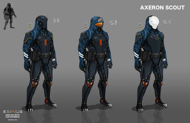 EXIMIUS: Axeron Scout by LoomingColumn