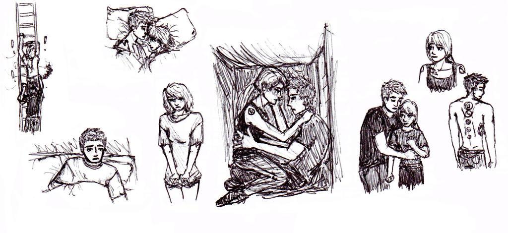 Divergent Fan Art Deviantart Fourtris Doodles by