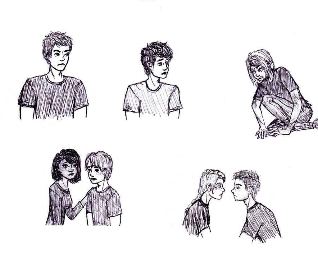 Divergent Fan Art Deviantart Divergent doodles by s...