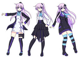 Adult Nepgear Designs by Stranded-Tacos