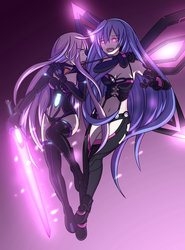 Conquest Gear vs Iris Heart by Stranded-Tacos