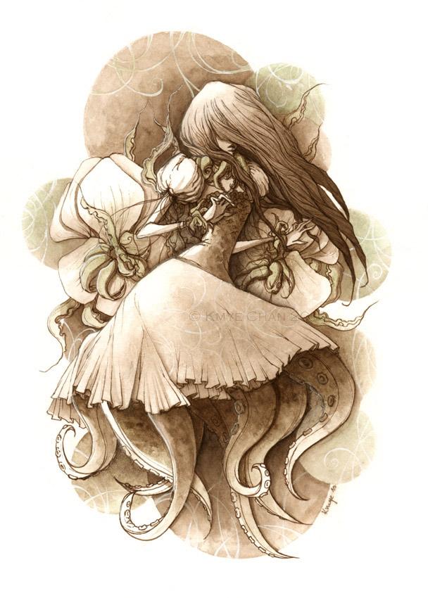 Octopus Girl by KmyeChan
