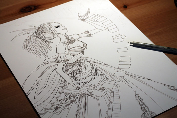 WIP - The Fortune Teller by KmyeChan
