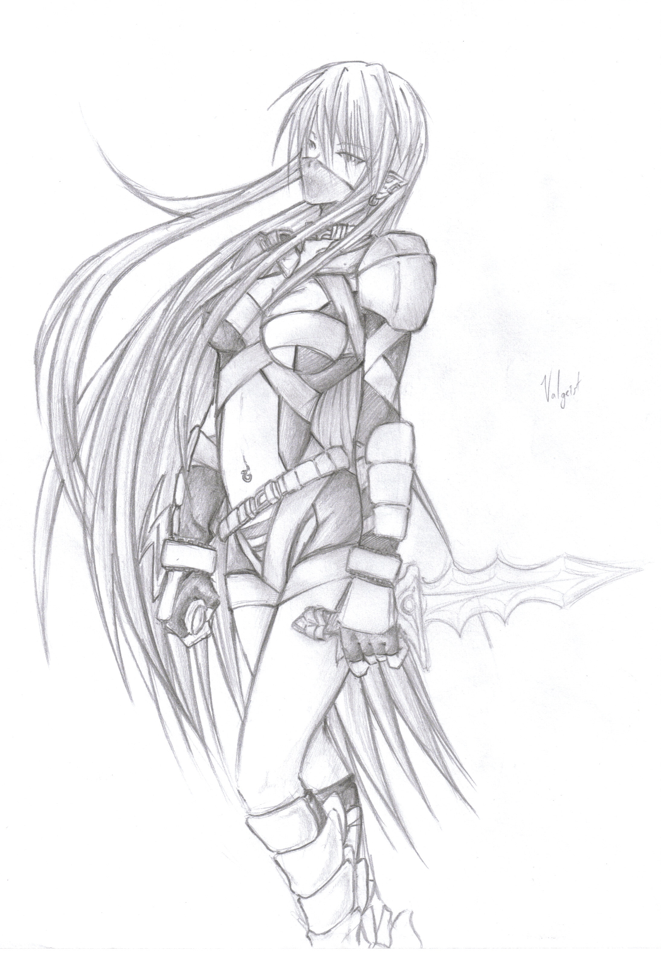 Valgeist Feamle Assassin By Colleenchow On Deviantart