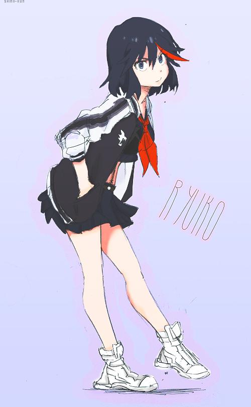 Ryuko Matoi [speedpaint] by Maxiiart01 by Maxiiart01