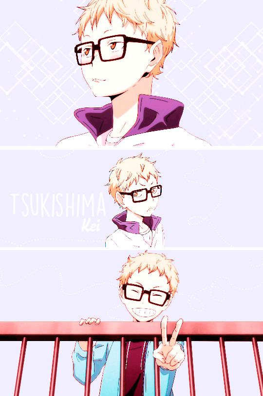 Tsukishima Kei by Maxiart01 by Maxiiart01