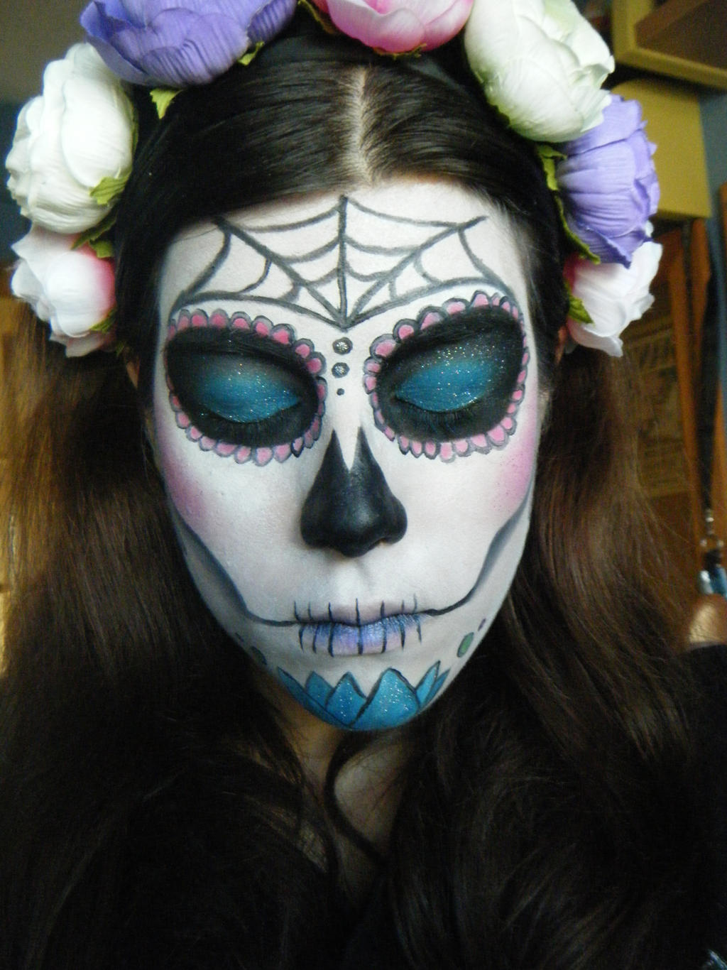 Day Of The Dead Makeup Male Emo Makeup