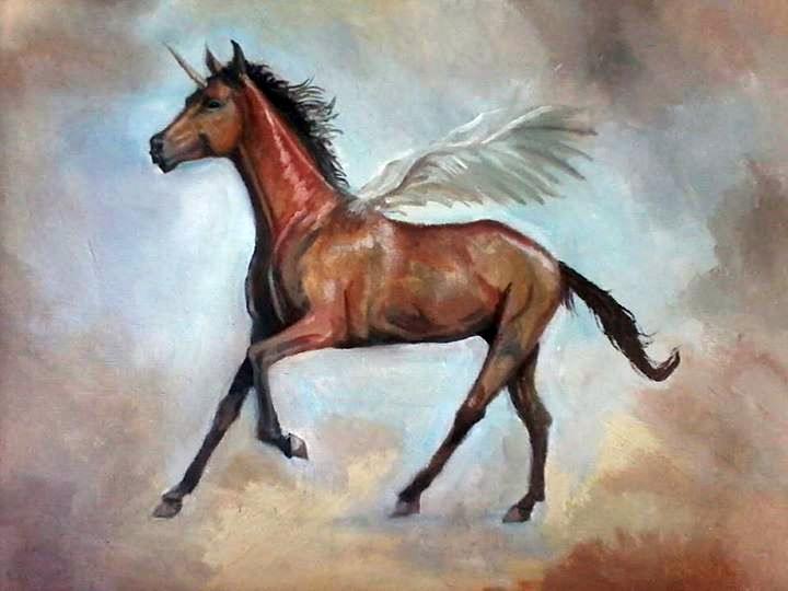 Horse by plasztikszar