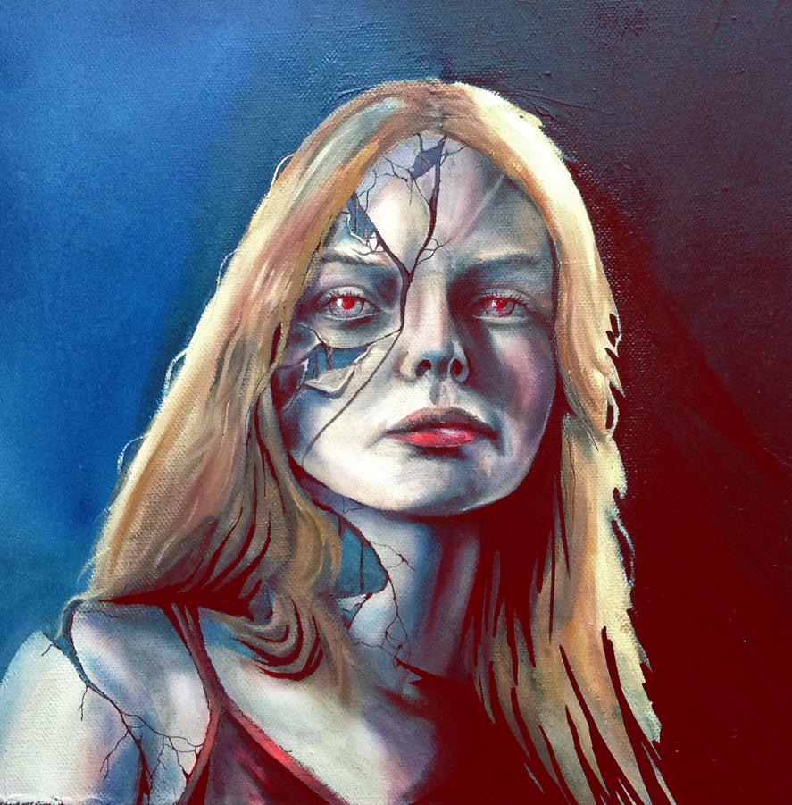 Broken Face by plasztikszar