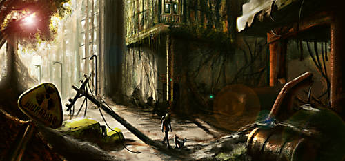 underground painting by multirajnesh