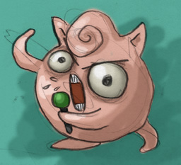 Heavy Metal Jigglypuff by Gouenne